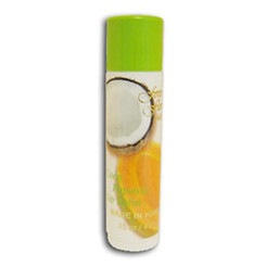 Hawaii Forever Florals Lip Balm Stick Coconut Papaya 8 Pack