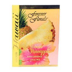 Hawaiian Bath Crystals Forever Florals Passion Pineapple 4 Pack