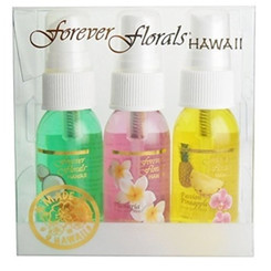 Hawaii Forever Florals Body Fragrance Mist Or Air Freshener 4 Sampler Packs