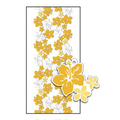Hawaiian Candy Lei Kits 6 Pack Hibiscus Gold