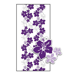 Hawaiian Candy Lei Kits 6 Pack Hibiscus Purple