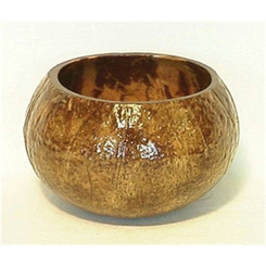 "Real Coconut Cup Bowls 12 Pack Approximately 3.5""  To 5"" Each"