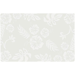 Translucent Placemat Hibiscus Set Of 4