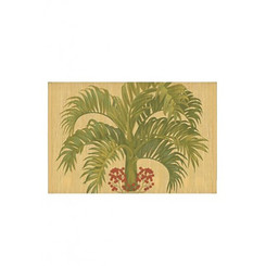 Hawaiian Style Bamboo Placemat Manila Palm Set Of 4