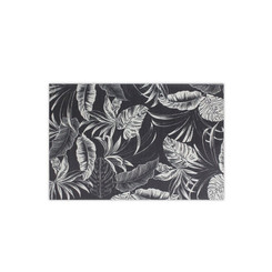 Woven Placemat Tropical Elegance Black Set Of 4