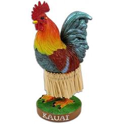 """Mini Dashboard Doll Kauai Rooster 4"""" Tall"""
