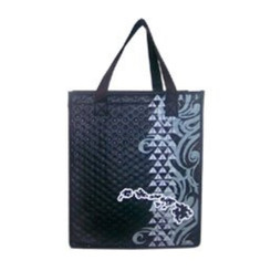 "Island Chain Small Insulated Tote Bag 8"" X 9"""