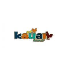 Hawaiian Metal Magnet Kauai Rooster