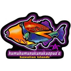Hawaiian Decal Humumu