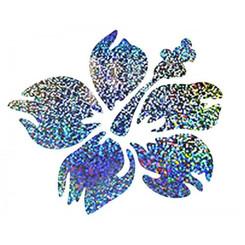 Hawaiian Decal Holographic Hibiscus
