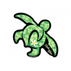 Hawaiian Decal Green Honu Turtle