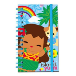 Island Yumi Notebook With Elastic Aloha