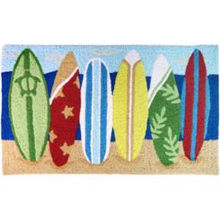 "Surfboards Island Style Rug 30"" X 18"""