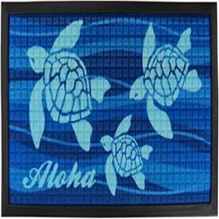 """Aloha Honu Tropical Door Mat 30"""" X 17.75"""""""
