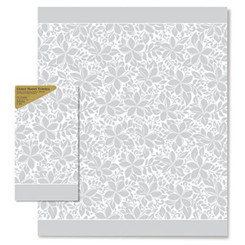 Paper Guest Hand Towels Elegant Plumeria