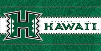 "Beach Towel 30"" x 60"" University of Hawaii"