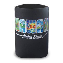 Island Can Cooler Hawaii Aloha State By Eddy Y