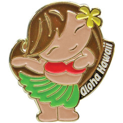 Islander Hawaii Lapel or Hat Pin Aloha Hula Girl