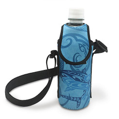 Hawaiiana Bottle Cooler With Strap Tribal Shark