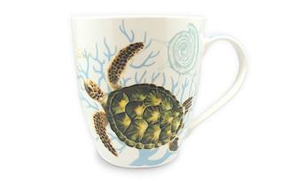 18 oz. U-Shape Coffee Mug 4 Pack Honu Turtle Voyage