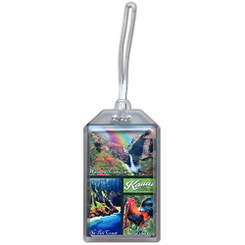 Hawaii Luggage ID Tag Kauai Scenes