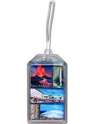 Hawaii Luggage ID Tag Big Island Scenes