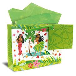 Hawaiian Mini Gift Bag 6 Pack Island Hula Honeys