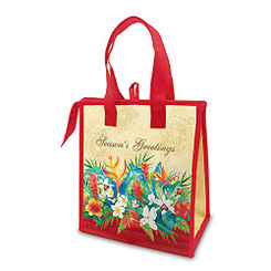 Hawaiian Holiday Small Insulated Lunch Gift Bag Seasons of Aloha