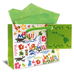 Hawaiian Mini Gift Bag 6 Pack Each Adventures