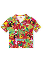 Boxed Christmas Cards Aloha Shirt ISLAND HULA HONEY