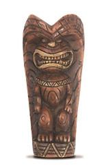 Magnet Hand Painted Tiki Totem