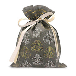 Hawaiian Drawstring Large Gift Bags 3 Pack Modern Monstera