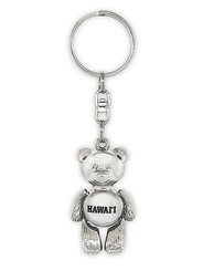 Hawaii Motion Key Chain Bear