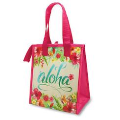 Hawaiian Insulated Lunch Bag Aloha Floral