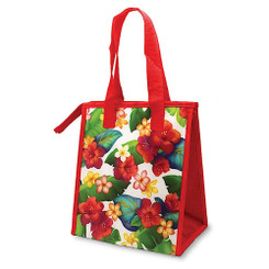 Hawaiian Insulated Lunch Bag Island Blossoms