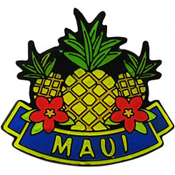 Hawaiian Lapel or Hat Pin Pineapple Maui