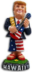 President Trump Hawaii Dashboard Doll Ukulele