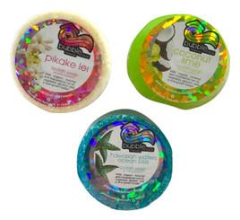 Bubble Shack Hawaii Loofah Soap Trio Organza Set 3 Bars Ocean Set