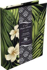 Photo Album Fabric Covered 184 View Plumeria Palm