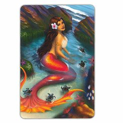 6 Decks Hawaii Playing Cards Mermaid Coral