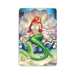 Hawaii Playing Cards Mermaid Pearl