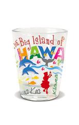 Hawaiian Shot Glass Adventures The Big Island