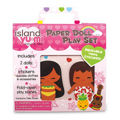 Paper Doll Play Set Hawaii Island Yumi