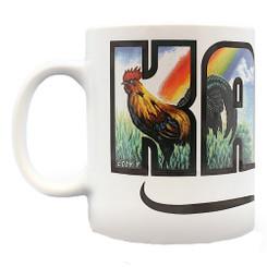2 Pack Hawaiian Coffee Mugs 14 oz. Kauai