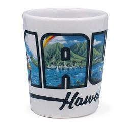 Hawaiian Ceramic Shot Glass Maui