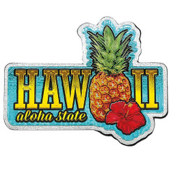 Hawaii Magnet Pineapple Aloha State