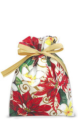 Hawaiian Drawstring Large Holiday Gift Bags 3 Pack Festive Plumeria