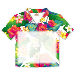 6 Pack Island Blossoms Aloha Shirt Stick 'N Notes