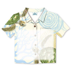 6 Pack Honu Turtle Voyage Aloha Shirt Stick 'N Notes