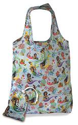 Foldable Tote Shopping Bag Island Hula Mermaids